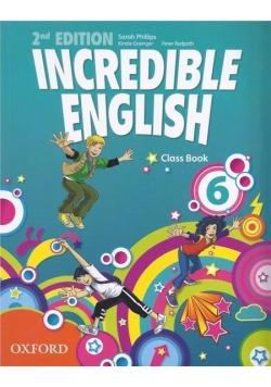 Incredible English  2E 6 CB OXFORD