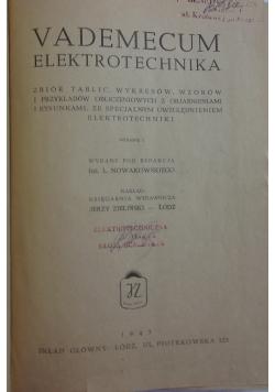 Vademecum elektronika, 1947r.