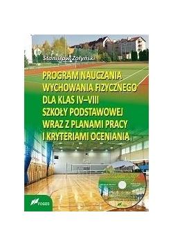 Program nauczania WF dla kl. IV-VIII SP + CD w.2