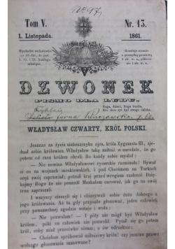 Dzwonek ,1859r.,Nr.16-17