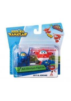 Super Wings 2-pak figurek transf. Jett & Jerome