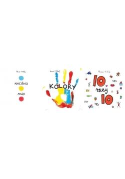 Pakiet Tulleta: NACIŚNIJ MNIE / KOLORY / 10X10