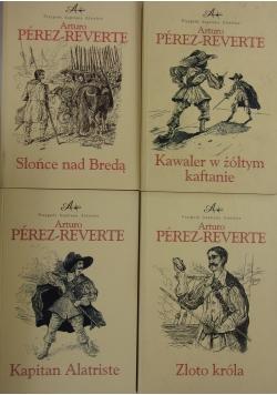 Przygody kapitana Alatriste, zestaw  4 książek