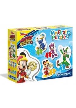 Moje Pierwsze Puzzle Mickey i Raźni Rajdowcy