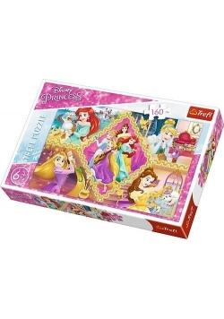Puzzle Przygody księżniczek 160 TREFL
