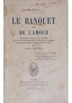 Le Banquet ou de l'amour 1911 r.