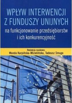 Wpływ interwencji z funduszy unijnych