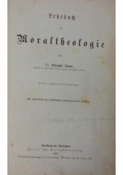 Lehrbuch der Moraltheologie, 1877 r.