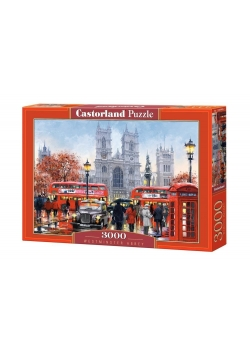 Puzzle 3000 Westminister Abbey CASTOR