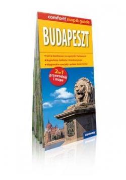 Comfort!map&guide Budapeszt 2w1 mapa