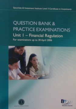 Question Bank&Practice Examinations, Unit 1