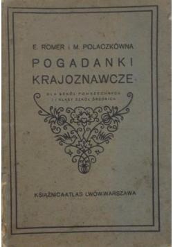 Pogadanki Krajoznawcze,1926 r.