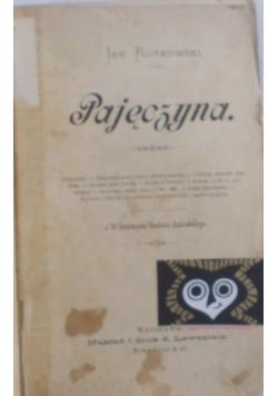 Pajęczyna, 1891 r.