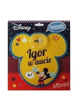 Zawieszka Miki - Igor w aucie