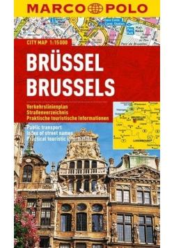 Plan Miasta Marco Polo. Bruksela