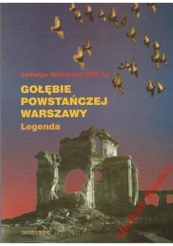 Gołębie powstańczej Warszawy Legenda