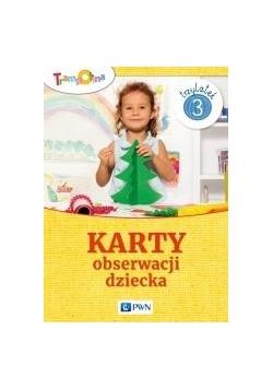 Trampolina. Karty obserwacji dziecka 3-latek PWN