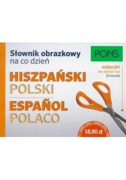 Słownik obrazkowy na co dzień. Hiszpański PONS