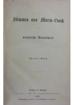 Stimmen aus Maria-Laach, 1872r.