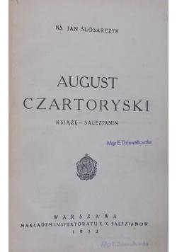 August Czartoryski, 1932 r.