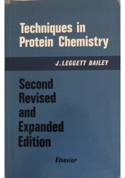 Techniques in Protein Chemistry