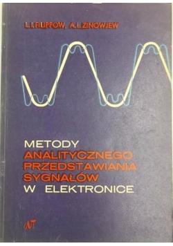 Metody analitycznego przedstawiania sygnałów w elektronice