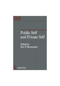 Public Self and Private Self