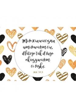 Magnes na lodówkę - Miłością wieczną