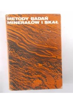 Metody badań minerałów i skał