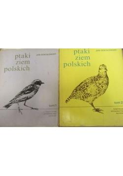 Ptaki ziem polskich Tom I i II