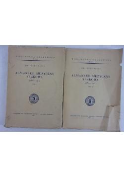 Almanach muzyczny Krakowa I-II, 1939r.