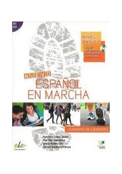 Nuevo Espanol en marcha basico A1+A2 ćw. + CD