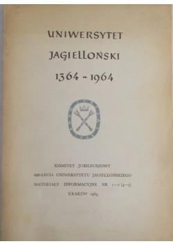 Uniwersytet Jagielloński 1364-1964