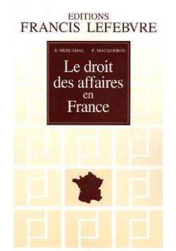 Le droit des affaires en France