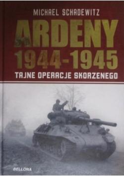 Ardeny 1944 - 1945, Tajne operacje Skorzenego