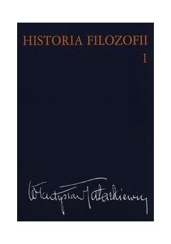 Historia filozofii, Tom 1
