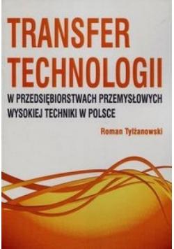 Transfer technologii w przedsiębiorstwach przemysł