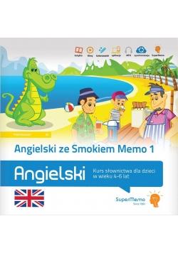 Angielski ze Smokiem Memo 1 (4-6 lat)