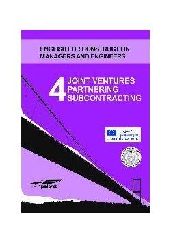 Joint ventures partnering subcontracting 4