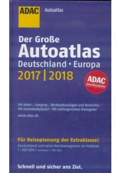 AutoAtlas ADAC. Deutschland, Europa 2018/2019