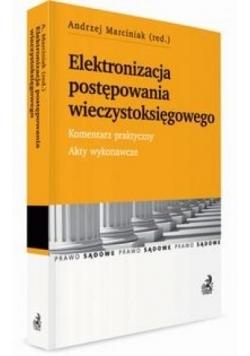 Elektronizacja postępowania wieczystoksięgowego