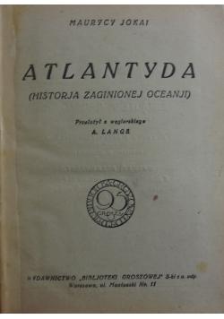 Atlantyda, 1925 r.