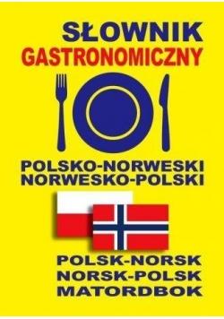 Słownik gastronomiczny pol-norw, norw-pol