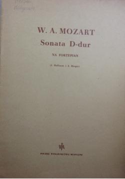 Sonata D-dur na fortepian