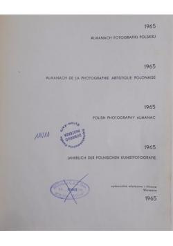 Almanach fotografiki polskiej 1965