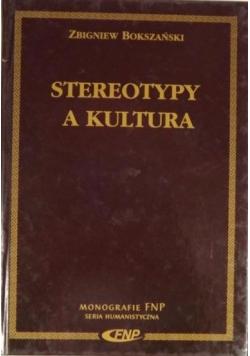 Stereotypy a kultura