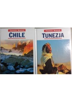 Podróże marzeń, 2 tomy, Chile i Tunezja