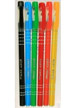 Długopis Roxy 0,6mm niebieski (30szt) SPARK LINE