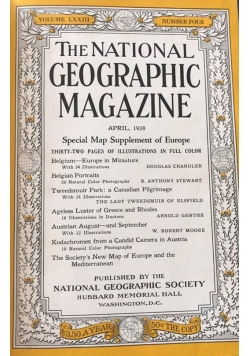 The National Geographic Magazine  nr 4-6/1938 r.
