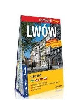 Comfort! map Lwów 1:10 000 w.2018 mapa MINI